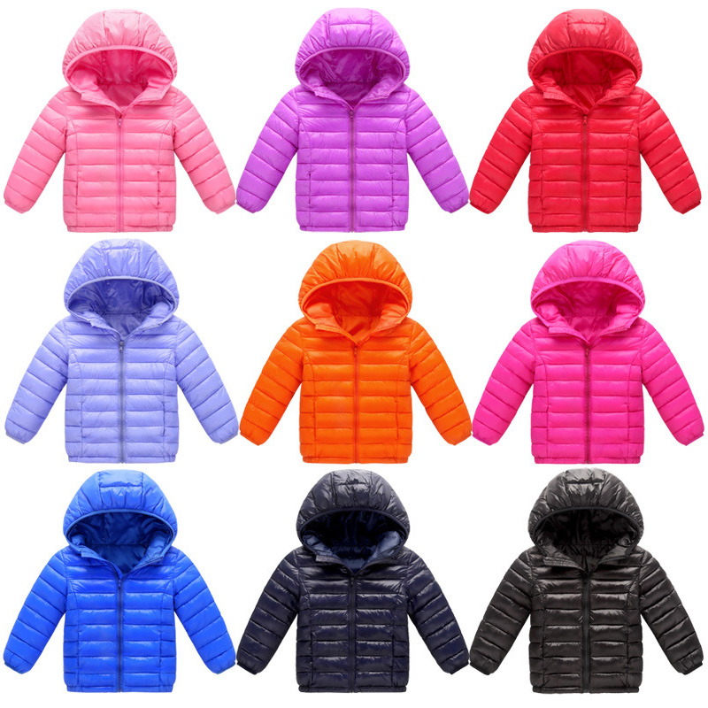 Children Winter Warm Down Jacket Boys Girls Long Sleeves Hooded Duck Down Coats Kids Clothes Ultra light baby Clothing TP005 winter coats girls down jacket for boys parkas long glasses models kids hooded jackets thick warm ski children outwear clothes