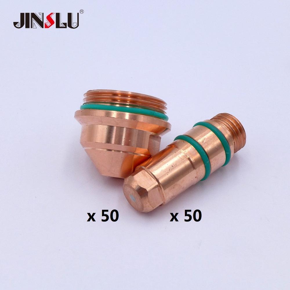 YGX200202 YGX200203 YGX 200 YK 200 YK 200A Electrode 50pcs Nozzle Tip 50PCS Plasma consumables SALE1