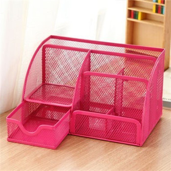 Cute Metal Stationery Holders Pen/Pencil Holder For Pen Stand Office  Desktop Organizer Container In Desk Accessories U0026 Organizer From Office U0026  School ...