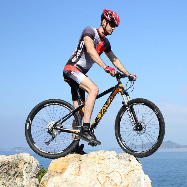 SAVA DECK700 22 Speed Carbon Fiber T800 Mountain Bike 29″ Ultralight MTB Bicycle Cycle SHIMANO M8000 Derailleur Oil Gas Brake