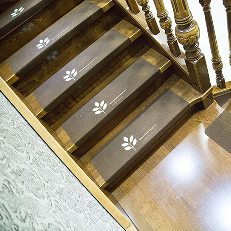 13 PCS Anti-slip Self Adhesive Stair Step Staircase Treads Mats Rug Rugs Cover Carpet Carpets Glow In Dark Floor Protector