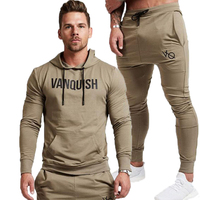 2019 New Fashion Men Set Long Sleeve Hoodies+Pants Set Male Tracksuit Outdoors Suit Men's Gyms Set Casual Sportswear Suit