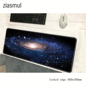 Uncanny Universe mouse pad 800x300x3mm pad to mouse mousepad Black Hole space gaming padmouse gamer to keyboard mouse mats