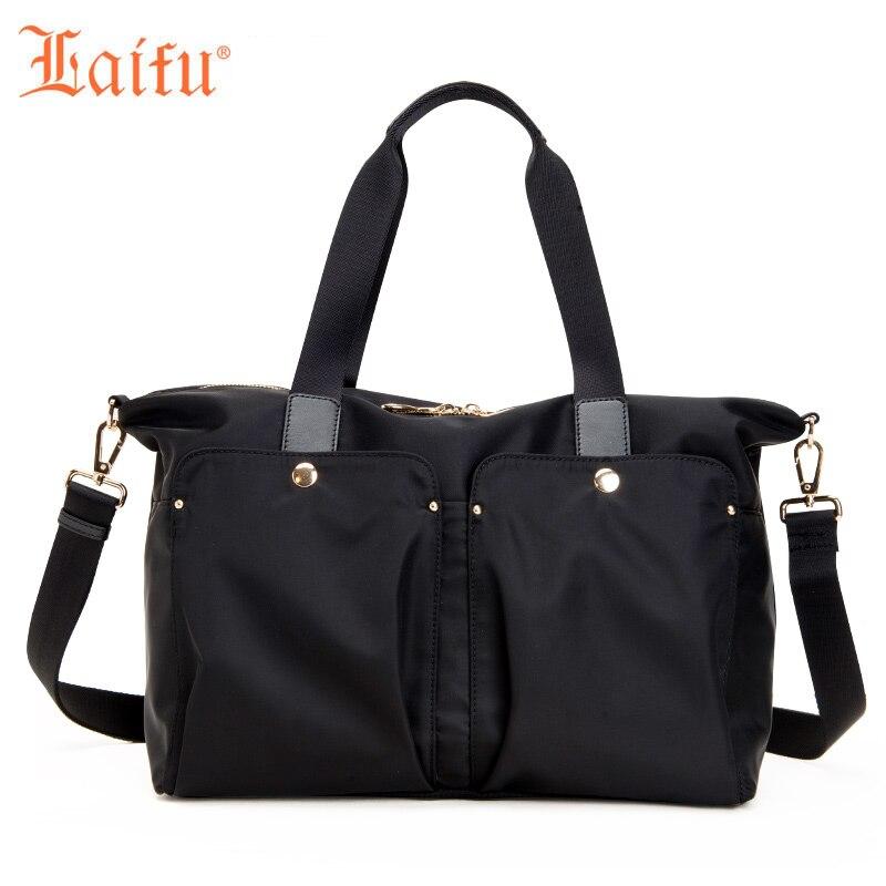 Laifu 2018 New Fashion Women Handbag Casual Large Tote Work School Travel Shopping, Black, Purple детские товары для ванной ai laifu