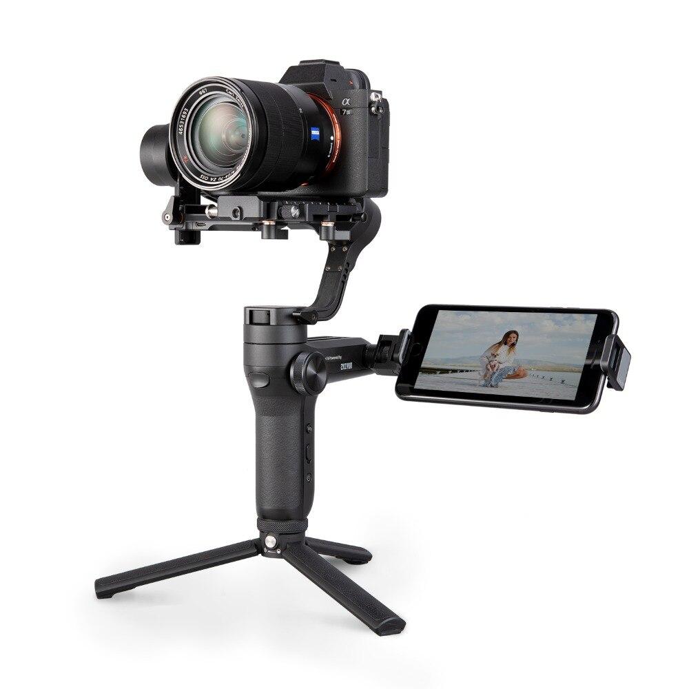Zhiyun Weebill LABORATOIRE 3-Axe Sans Fil Image Image Transmission stabilisateur de caméra pour appareil photo compact OLED Affichage De Poche Cardan - 3