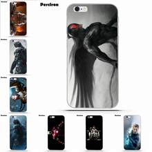 Miękkie TPU torby etui na iPhone'a 4 4S 5 5C SE 6 6 S 7 8 Plus X Galaxy S5 S6 S7 s8 Grand rdzeń II Prime alfa czarny charakter Ultron film(China)