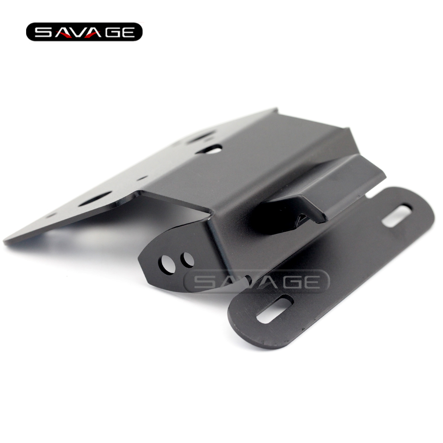 For SUZUKI GSR GSX-S 750 GSR750 GSX-S750 Tail Tidy Fender Eliminator Registration License Plate Holder Bracket LED Light for suzuki gsxr1000 2007 2008 motorcycle licence plate bracket tail tidy rear fender eliminator billet aluminum