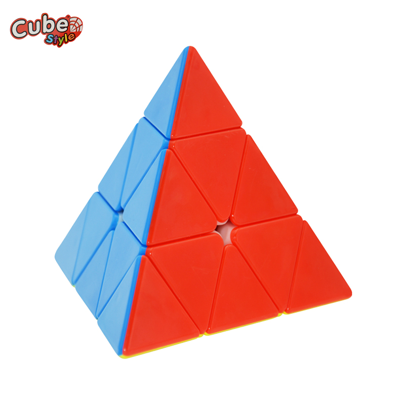 Cube Style Triumph Pyraminx 3x3x3 Pyramid Pyraminx Magic Cube Speed Puzzle Cubo Learning Education font b