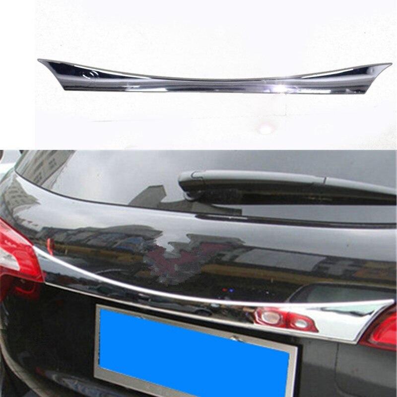 Accessoires Auto voiture couvercle de moulage de coffre arrière garniture de coffre arrière pour Kia Sorento 2013 2014 Abs Chrome 1 pc style voiture