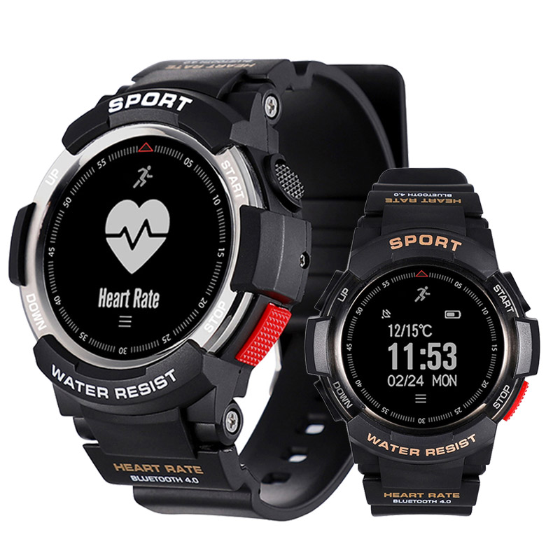 Sport Smart Watch Waterproof IP68 Bluetooth 4.0 Heart Rate Monitor Camera Connect Watch Men Smartwatch For Android IOS iPhone lemdioe smart watch ip68 waterproof for men heart rate monitor multi sport mode bluetooth call smartwatch for android ios phone