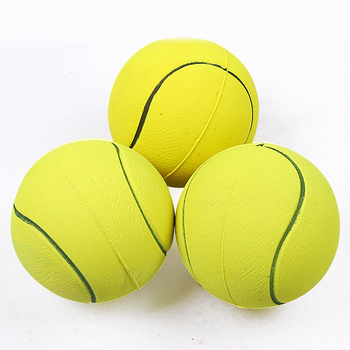 1pcs Diameter 6cm Squeaky Pet Dog Ball Toys, Rubber Chew Puppy Toy Dog  5