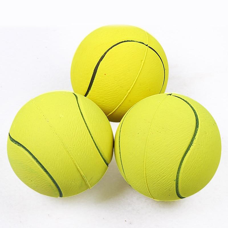 1 шт. Диаметр 6 см скрипучий мяч для комнатной Собаки Игрушки для маленьких собак из резины для жевания щенками игрушка собаке, игрушки для домашних животных brinquedo cachorro-4