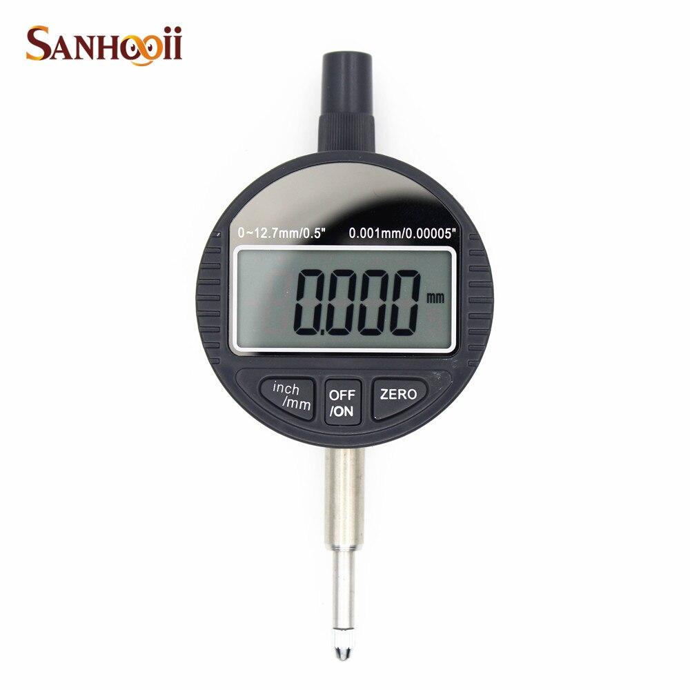Electronic Indicator Tool : Sanhooii mm quot dial micro indicator measurement