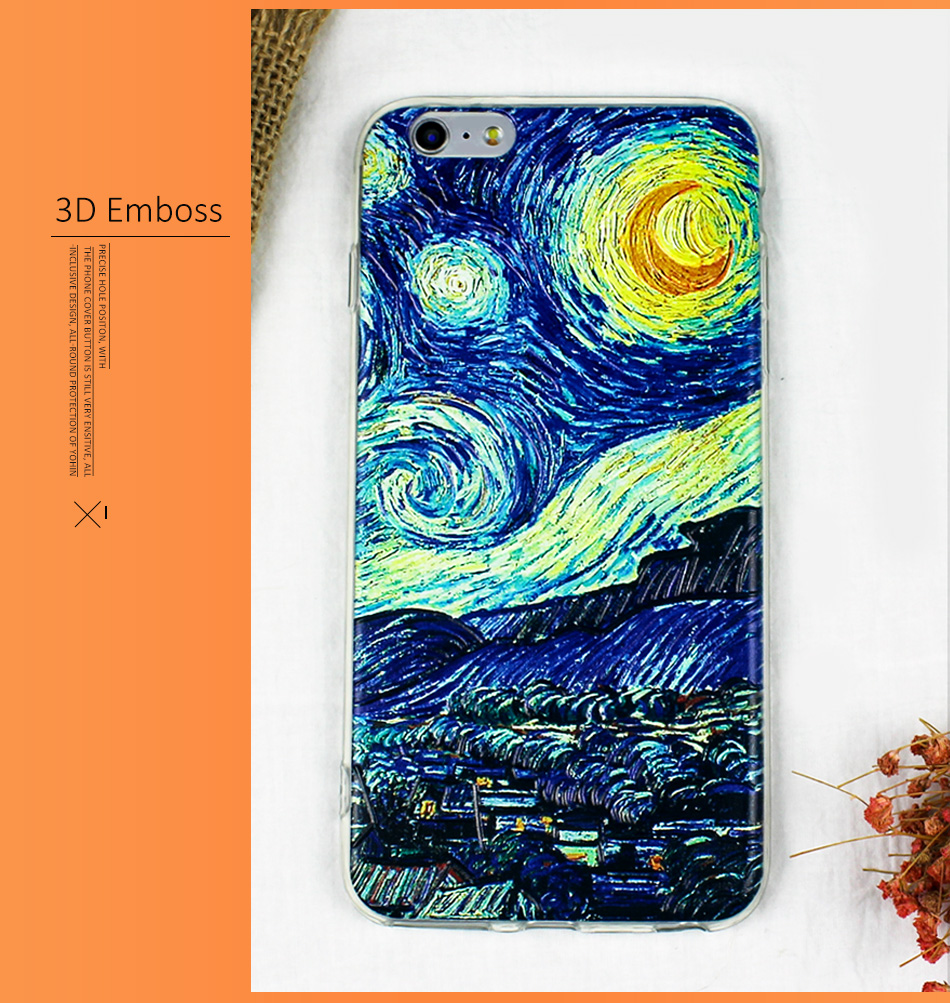 !ACCEZZ TPU Soft Cartoon 3D Protective Back Cover For Apple iphone 66s78 Plus Case Creative Patterned Phone Shell Funda Coque (4)