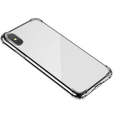 For Phone 6 7 8 X XR XS MAX Trasparente High Quality TPU Soft Airbag Protective Ultra-Thin Anti-Drop Back Shell Case
