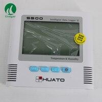 Huato S500 TH влажности температуры регистратор данных температуры и влажности будучи показал одновременно