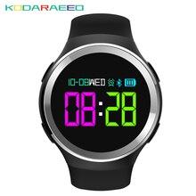 N69 Esportes Relógio Inteligente 0.95 polegadas OLED Taxa de pulso de Oxigênio No Sangue Do Coração Monitor de Calorias Pedômetro Sono Mensagem Pulseira Smartwatch