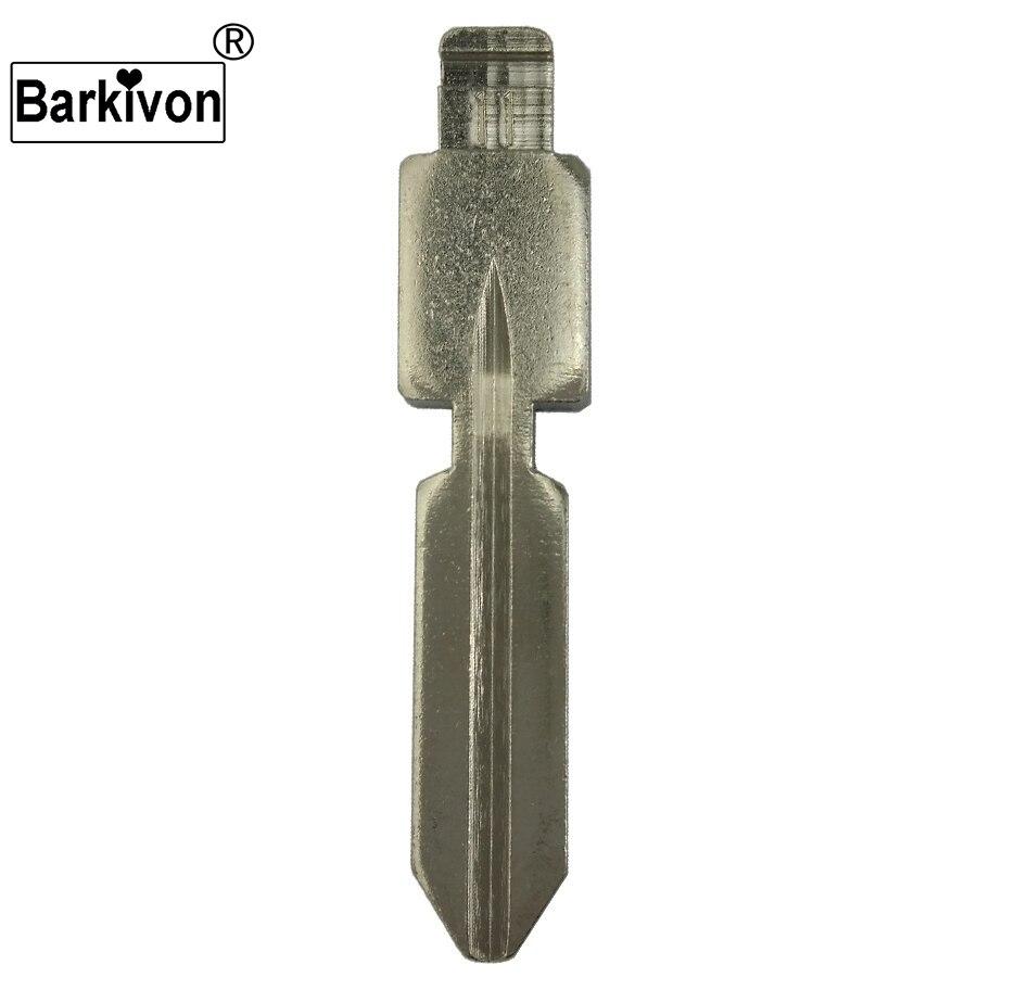 Barkivon 11 # substituição material de bronze flip uncut chave lâmina para mercedes benz 124 126 w140 s320 chave em branco