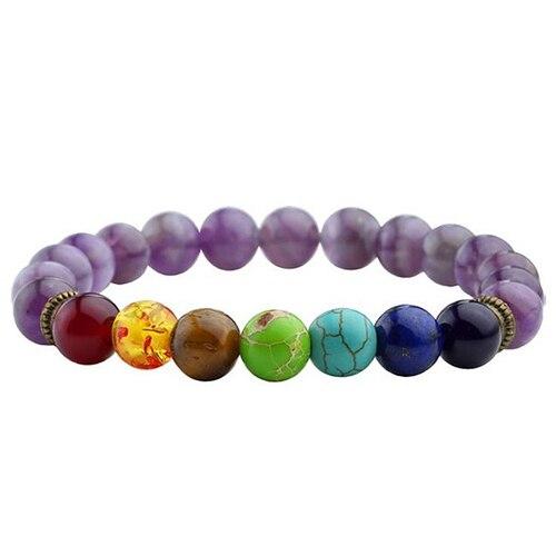7 Chakra Healing Lava Bracelet16