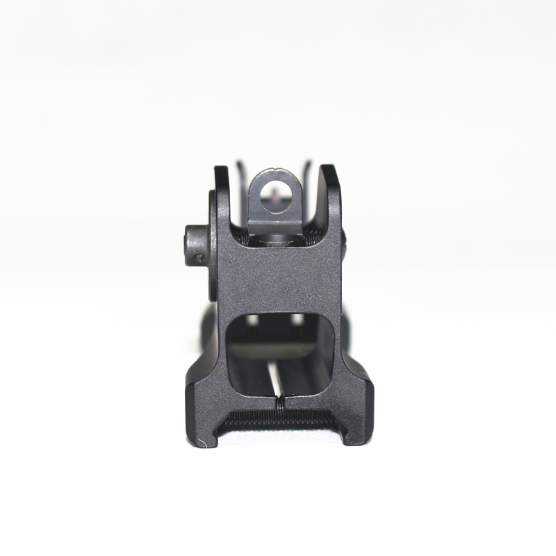 Image 5 - Tactical Fixed Front Rear Sight Streamline Design Standard AR15 Apertures Iron Sights Hunting Airsoft Accessories-in Paintball Accessories from Sports & Entertainment