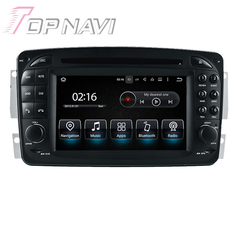 Quad Core Android 5 1 1 font b Car b font Radio For Benz E W210