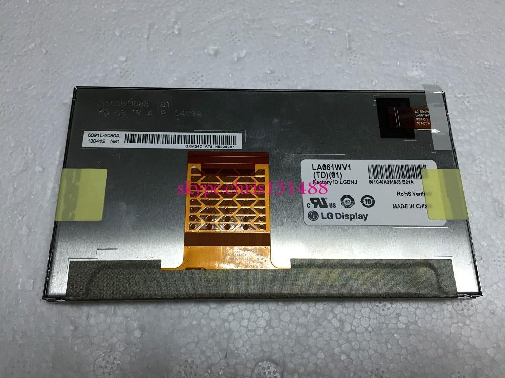 LA061WV1(TD)(01) LA061WV1 TD 01 LCD Display 6.1 Car DVD navigation LCD SCREEN FREE SHIPPING