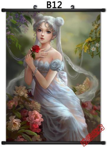 Аниме Япония плакат дома Сейлор Мун Кристалл - Цвет: Прозрачный