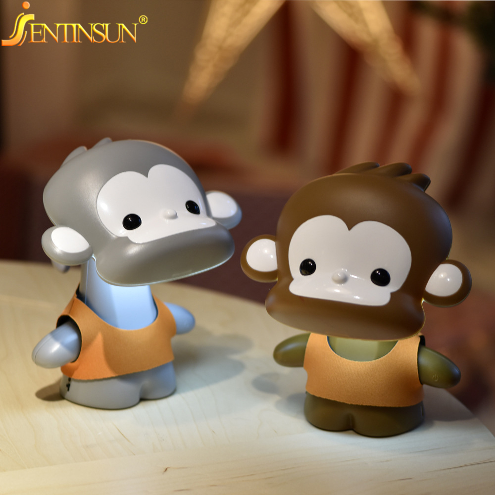 Cartoon Monkey Indoor Lighting Lighting Led Night Light