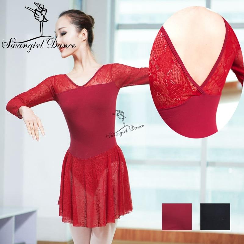lányok ballerina ruha hímzés mesh ballet-ruházat felnőtt - Újdonság