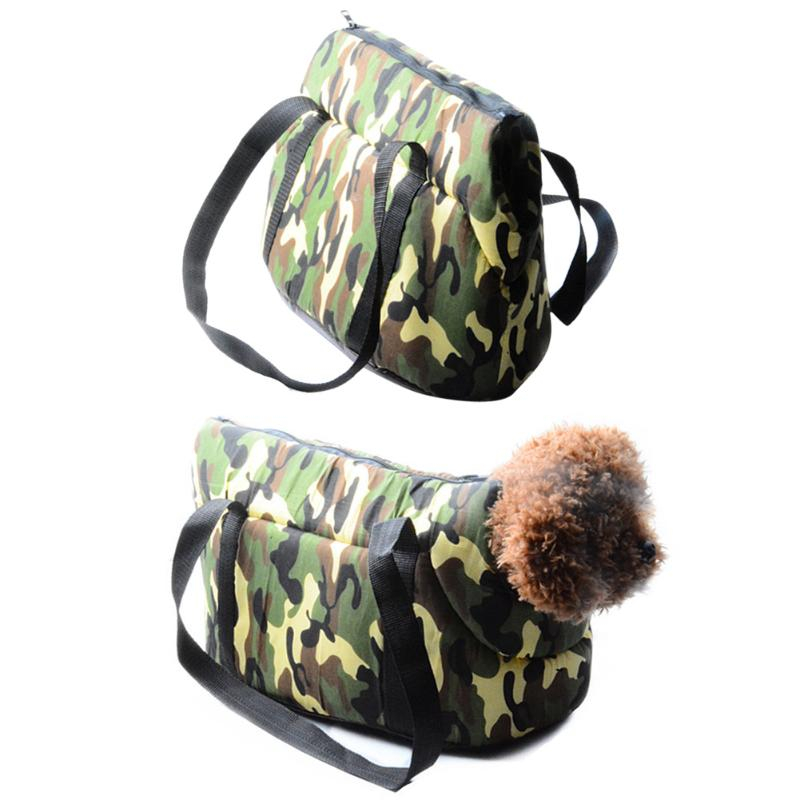 Handbag Perros-Carrier Cat-Products Transporte Puppy-Kitty Travel Dog Outdoor Camouflage
