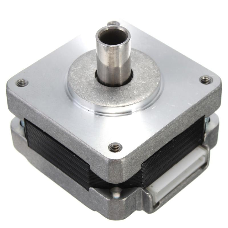 39mm Eixo Oco Motor de Passo Híbrido Fase 4 5 Quadrado Fio de 1.8 Graus de Passo Motor Novo