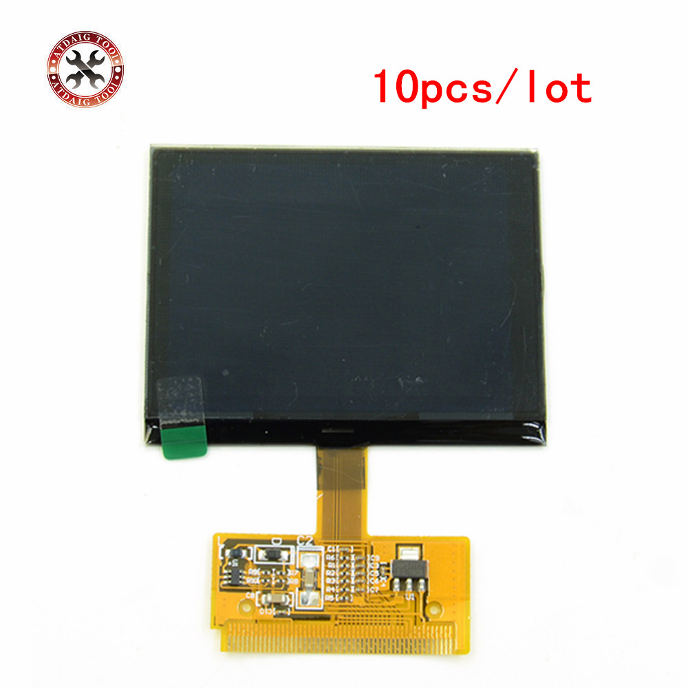 10Pieces lot For VW AUDI A3 A4 A6 VW Auto scanner tool VDO LCD Display for