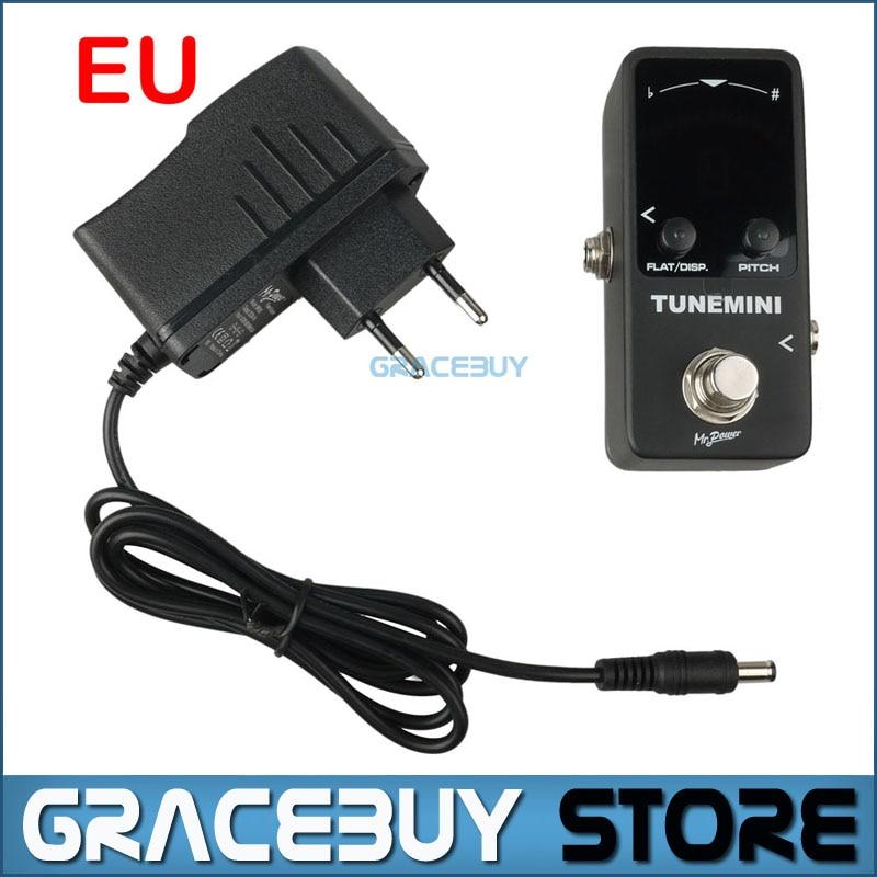 Mr.Power Mini Tuner Effect Pedal LED Display Chromatic Tuning for Guitar Bass Ukulele New