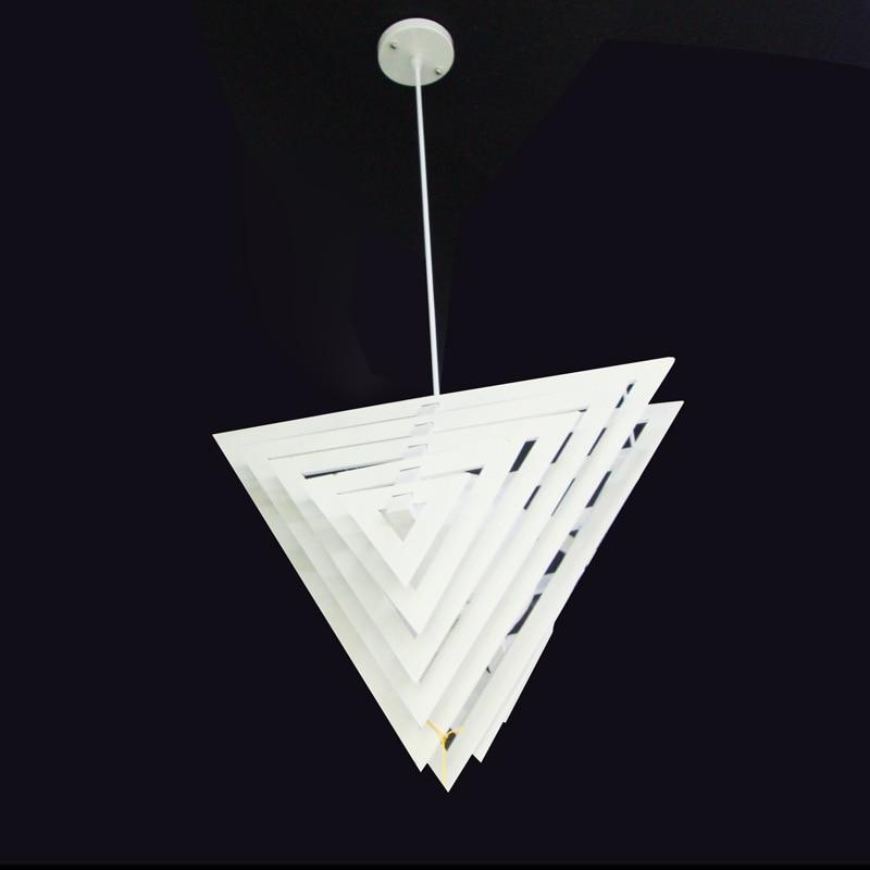Modern Minimalist CUBE BOX FRAME Pendant Light Geometric