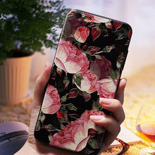 3D Relief Flower Luxury Cases For Redmi 5 plus 4X 4A Note 4/4x 5A prime TPU Silicone Rubber Soft Cover Case Xiaomi A1 5X