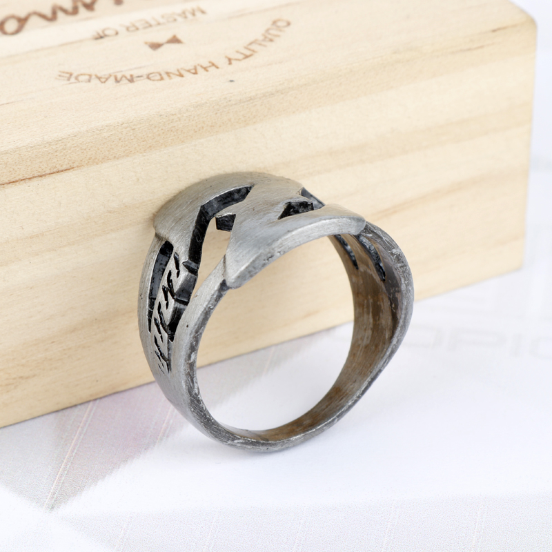 Anime Dragon Ball Z Logo Ring Fans Gift Cosplay Finger Ring