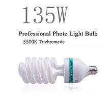 Dison e27 220V 5500K bulb 135W font b Photo b font Studio Bulb Video Light photography