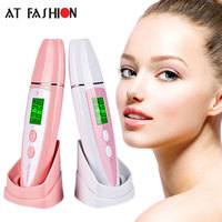 New LCD Digital Skin Moisture Meter Skin Care Tester Moisture Oil Content Analyzer Monitor Detector Face