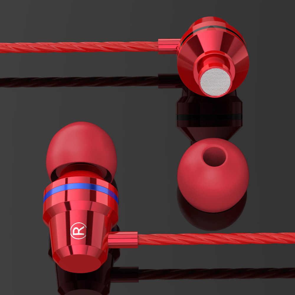 Rodzaj usb C słuchawki z mikrofonem słuchawki dla Xiaomi note3 Nubia z17 Samsung Typec zestaw słuchawkowy stereo