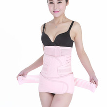 With Postpartum Abdomen Three Piece Received Gastric Thin Waist Contraction Pelvis Summer Ventilation Pack Body Bound