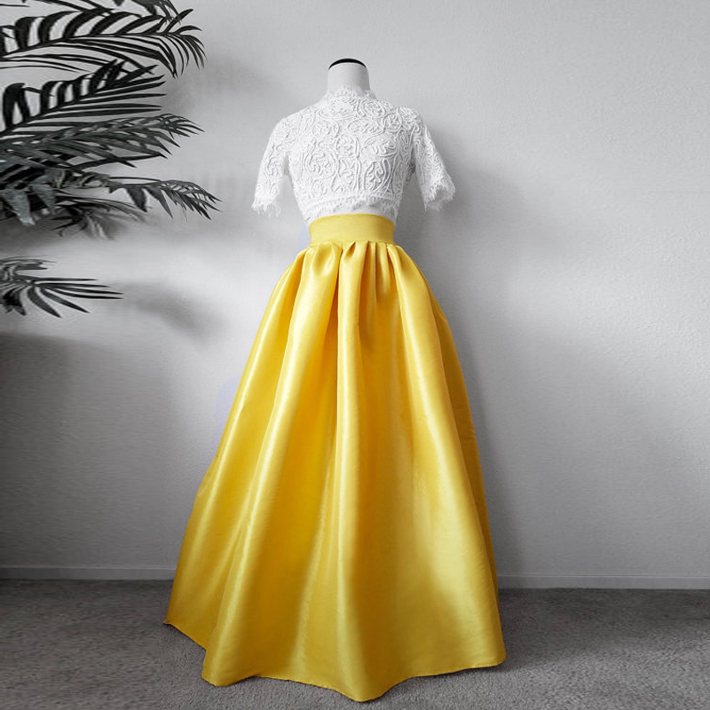 Online Buy Wholesale long yellow skirt from China long yellow ...