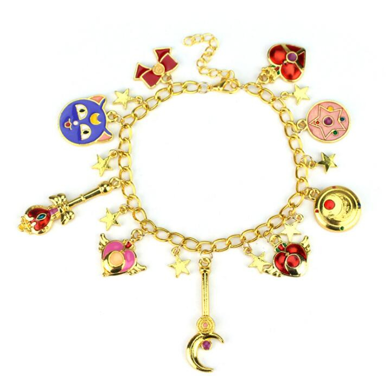 Sailor Moon Women's bracelet Cosplay anime prop costume Accessories