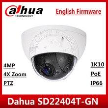 Dahua SD22404T GN 4MP 4x Ptz Network Camera Ivs Wdr Poe IP66 IK10 Upgrade Van SD22204T GN Met Dahua Logo Express Schip