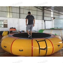 5m Diameter Inflatable font b bouncer b font pool inflatable toy water trampoline water platform water