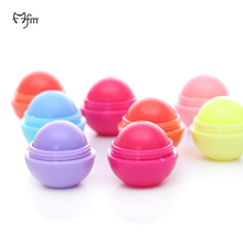 FM 2017 Long-lasting Nutritious Lipstick Lip Gross Balm Matte Waterproof Cosmetics Eatable Safe Natural Lovely 6 colors Lip Ball