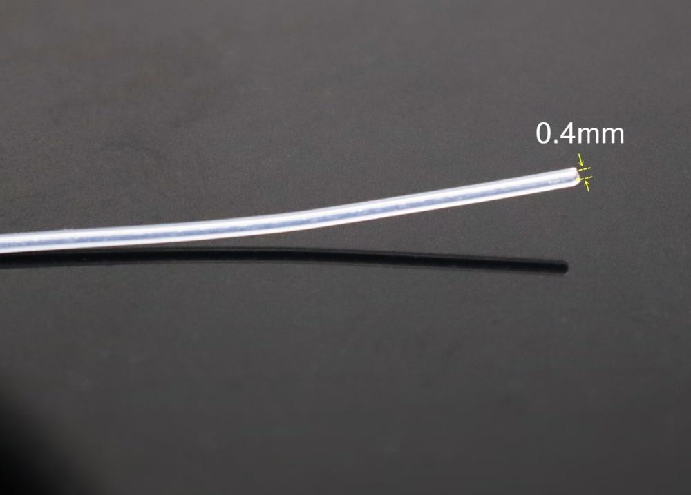 99,99% Silberkabel 0,4 mm Splitterkabel Teflonabdeckung DIY Bulk-Kabel