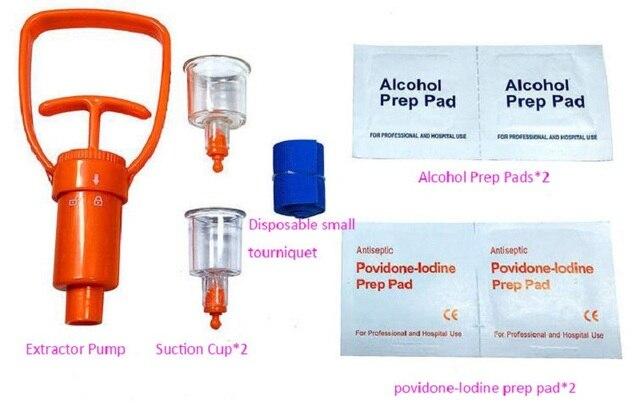 Venom Vacuum Extractor First Aid Kit 6