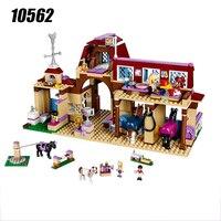 10562 Girls Friends Heartlake Riding Club Building Blocks 594Pcs Kids Model DIY Bricks Toys For Children