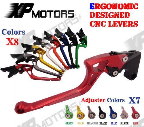 ФОТО Unbreakable Ergonomic New CNC Adjustable Right-angled 170mm Brake Clutch Levers For CBR250R CBR300R CBR500R CB500F/X