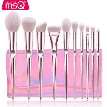 MSQ 10pcs Makeup Brushes Set Blusher Foundation Eyeshadow Make Up Brushes Kit Professional Pincel Maquiagem Travel Make Up Tools msq